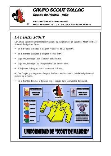 Uniformidad - Camisas e insignias - Tallac