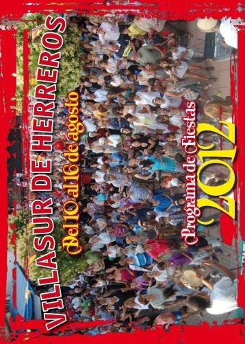 D el 10 al 16 de agosto - Villasur de Herreros