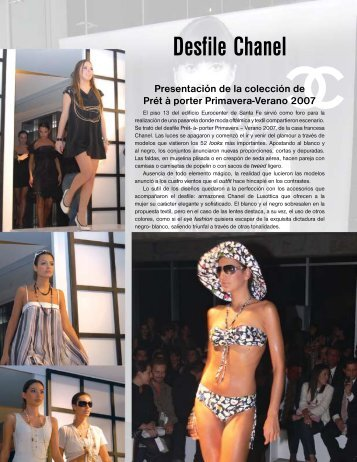 Desfile Chanel - Imagen Optica