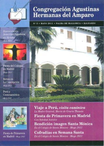 Nº 3 Congregación A.H.A. - Agustinas del Amparo