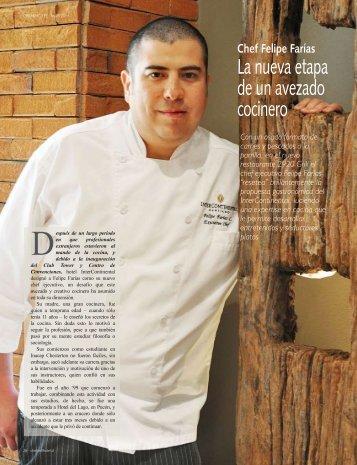 La nueva etapa de un avezado cocinero - Chef & Hotel