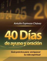 40 Días de ayuno y oración - Iglesia Adventista Agape