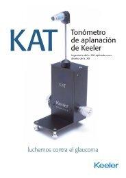 Tonómetro de aplanación de Keeler