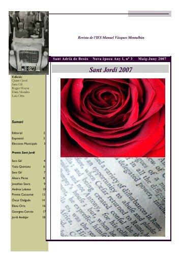 revista biscuter nº 3 (abril-juny 2007). (pdf) - Xtec