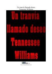 Un tranvía llamado deseo Tennessee Williams - Daniel Cinelli