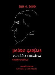 Pedro Garfias - 2da. Edicion - Luis Eugenio Todd