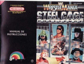 Manual WWF Wrestlemania Steel Cage Challenge - Manuales de ...