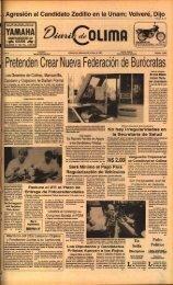 Pretenden Crear Nueva Federación de Burócrata s - Universidad de ...