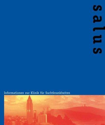 Informationen zur Klinik für Suchtkrankheiten - salus kliniken GmbH