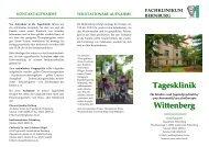 Tagesklinik Wittenberg - SALUS gGmbH