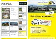 Raiffeisen Autokredit - Raiffeisen Salzburg
