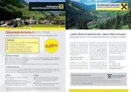 Ausgabe April 2013 - Raiffeisen Salzburg