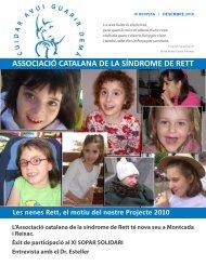 L'Associació catalana de la síndrome de Rett té nova seu a ...