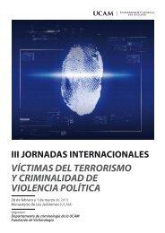 Jornadas Criminología 2013 - Asprovict