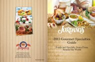 2013 Gourmet Specialties Guide