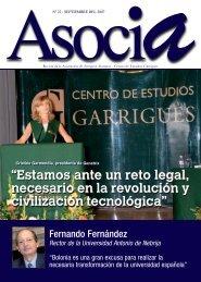 Nº 22, Septiembre 2007 - Centro de Estudios Garrigues