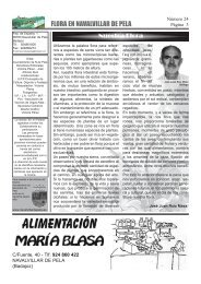 Revista en mi pueblo interior nº24 - Navalvillar de Pela