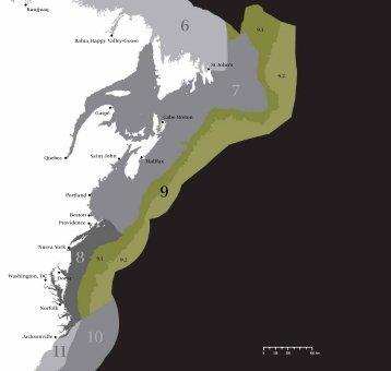 Transición del norte de la corriente del Golfo