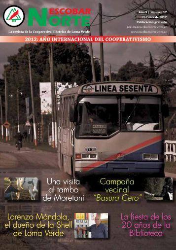 Octubre 2012 – N° 17 - Escobar Norte
