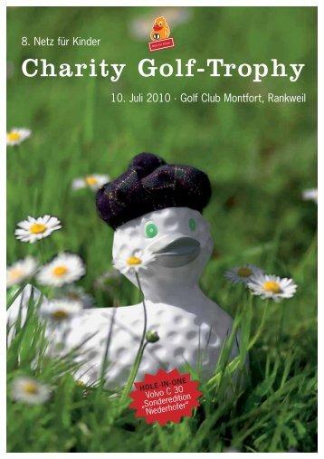Charity Golf-Trophy