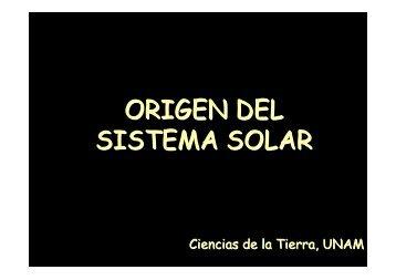 El Sistema Solar - UNAM