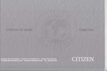 catalogo citizen