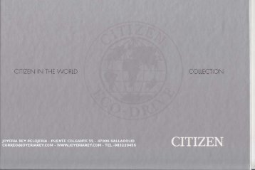 catalogo citizen