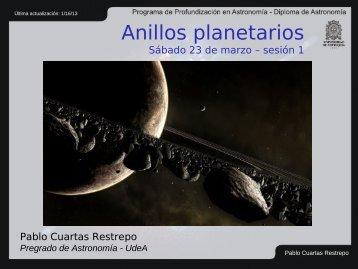 Historias de Planetas y Exoplanetas - pregrado de Astronomía