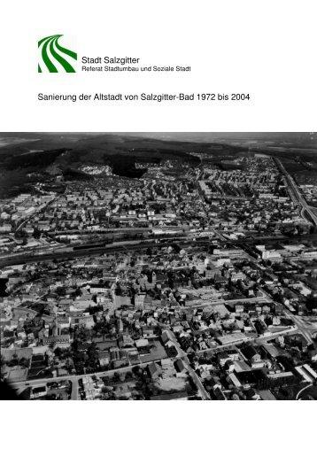 Altstadtsanierung Teil 1 - Stadt Salzgitter