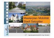 Ziele Masterplan Mobilität - Stadt Salzgitter