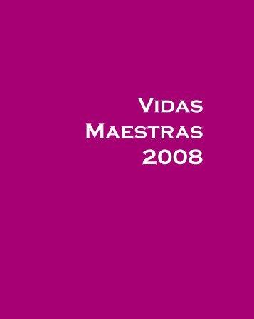 Vidas Maestras 2008 - Educantabria