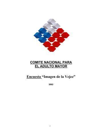 """Encuesta """"Imagen de la Vejez"""" - Senama"""