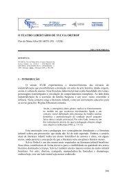 O TEATRO LIBERTÁRIO DE SYLVIA ORTHOF - UEM