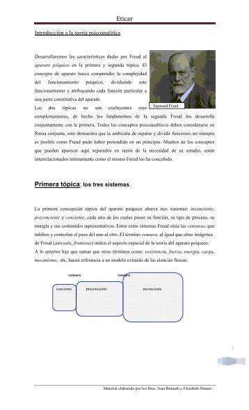 Introducción a la teoría psicoanalítica - Eticar