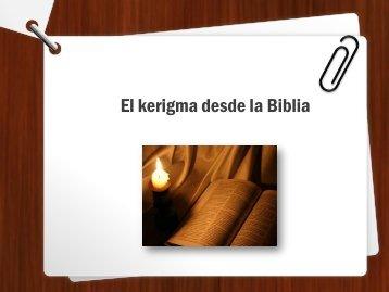 El kerigma desde la Biblia