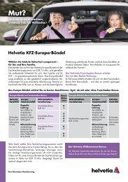 Helvetia Kfz-Europa-Bündel