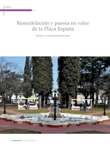 Remodelación y puesta en valor de la Plaza España - Strand