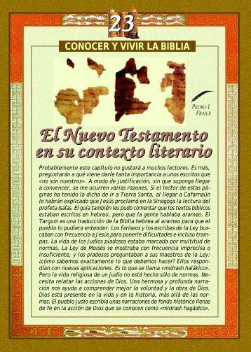 El Nuevo Testamento en su contexto literiario.pdf - Paulinas