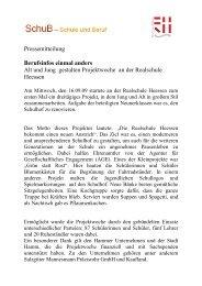 Projektwoche an der Realschule Heessen - Hamm
