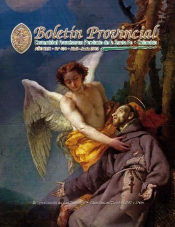 Contenido - Orden de Frailes Menores Provincia de la Santa Fe