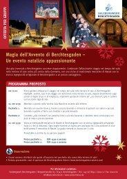 Magia dell'Avvento di Berchtesgaden - Das Salzbergwerk ...