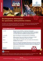 ein spannendes, weihnachtliches erlebnis - Das Salzbergwerk ...