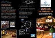 Dinner im Salzbergwerk 2013 - Das Salzbergwerk Berchtesgaden