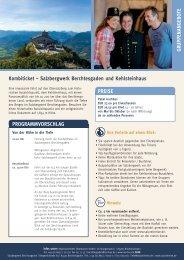 Kombiticket – Salzbergwerk Berchtesgaden und Kehlsteinhaus ...
