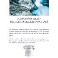 WUNDERBAR BELEBEN MonteSol MINERALIEN-SAUNA-SALZ