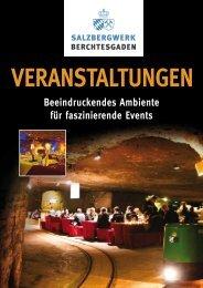 Veranstaltungen / Broschüre / Firmenveranstaltungen - Das ...