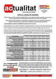 ESPECIAL NÒMINA DE DESEMBRE