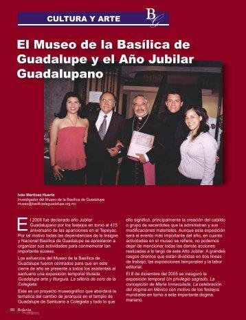 El Museo de la Basílica de Guadalupe y el Año Jubilar Guadalupano