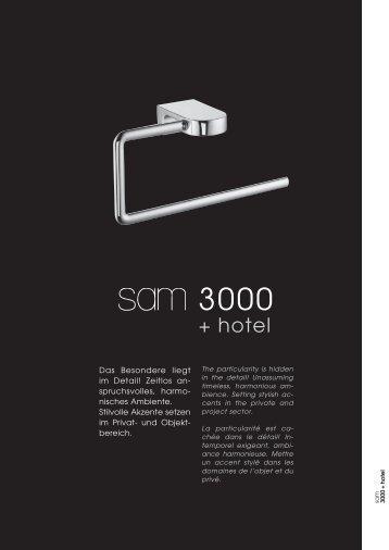 sam 3000+hotel
