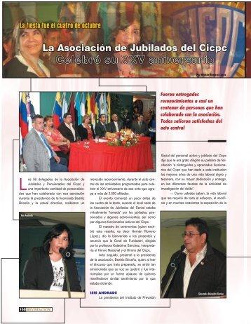 La asociación de jubilados del Cicpc celebro su ... - Revista CICPC